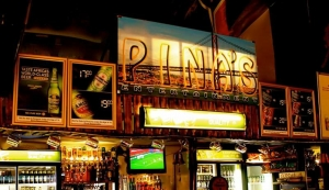 Pina's Entertainment  and Take Away Logo